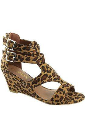 Leopard  Jessica Wedge