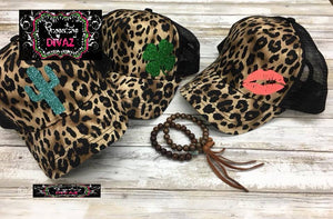 Leopard Hat with image