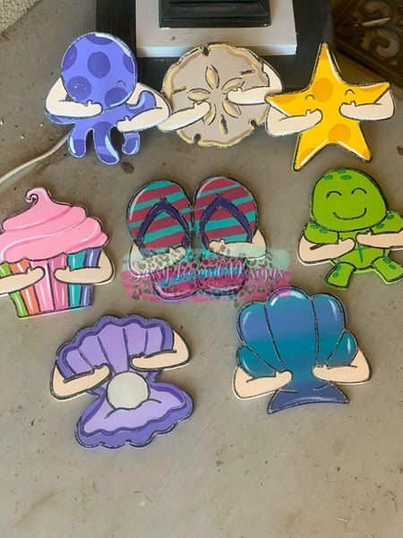 Mermaid Door Hanger set