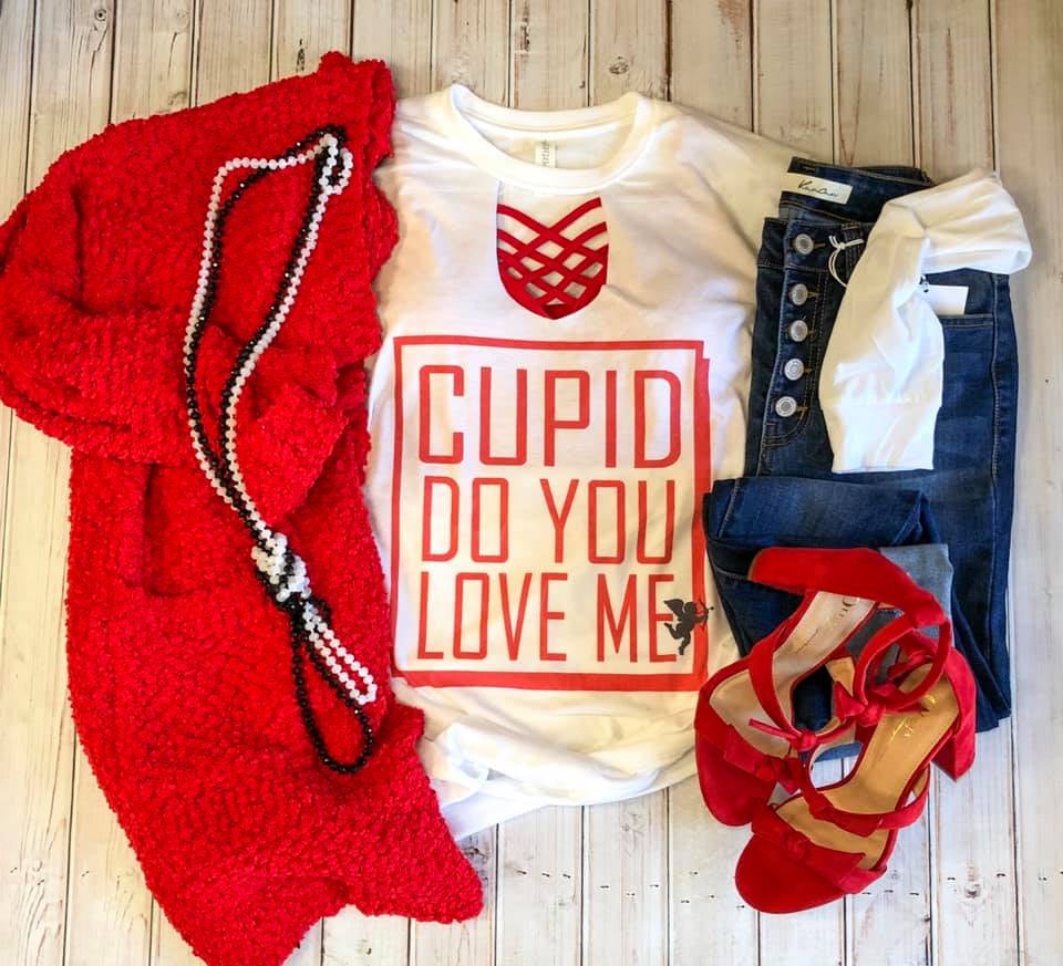 Cupid Do You Love Me Long Sleeve