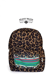 Crash Course Leopard Backpack