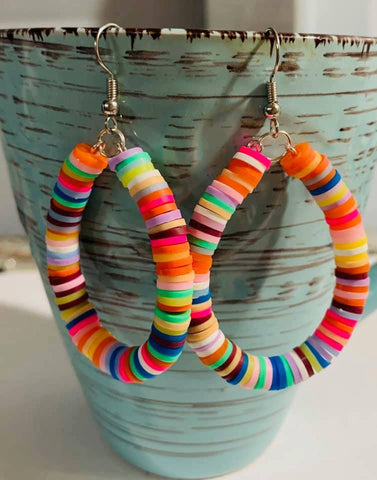 Candy Loop Earrings