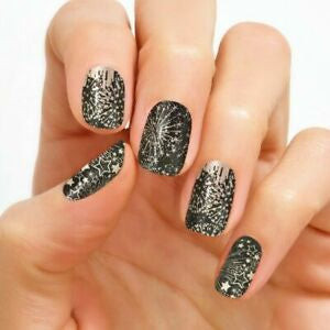 New Year Wishes 100% Nail Polish Strips
