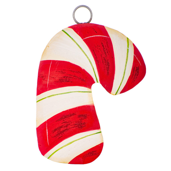 Traditional Candy Cane Mini Charm