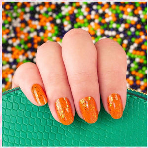 Orange You Scared 100% Nail Polish Strips