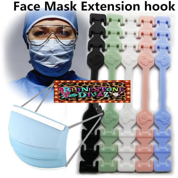 Face Mask Clips (5 clips)