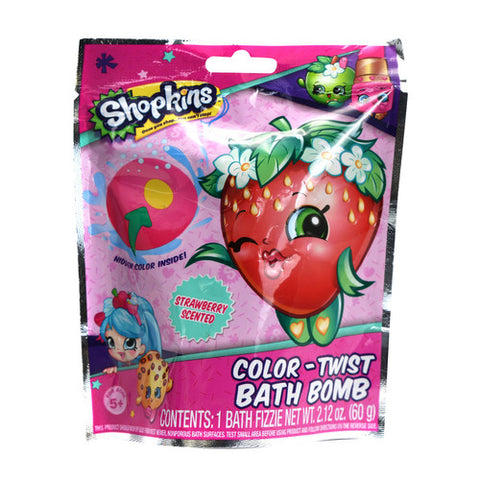 Shopkins 60gm Bath Bomb In Foil Bag