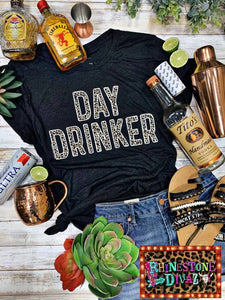 Leopard Day Drinker Tee