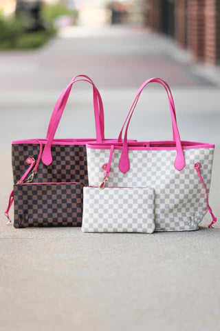 Christian Checkered Bag
