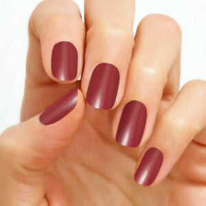 Munich Mulberry 100% Nail Polish Strips
