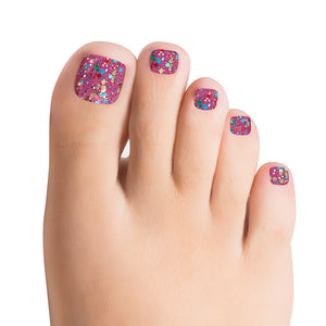 Dansk All Night TOE 100% Nail Polish Strips