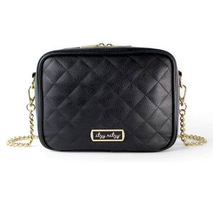 PREORDER Itzy Ritzy Black Double Take™ Crossbody Diaper Bag
