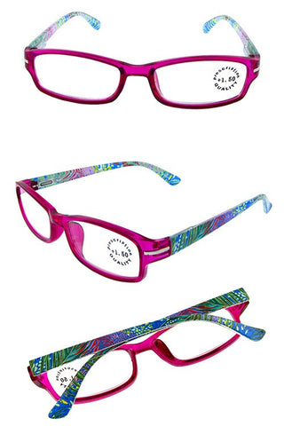 Pink Frame Tropical Readers