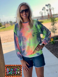 Tye Dye Butter Top