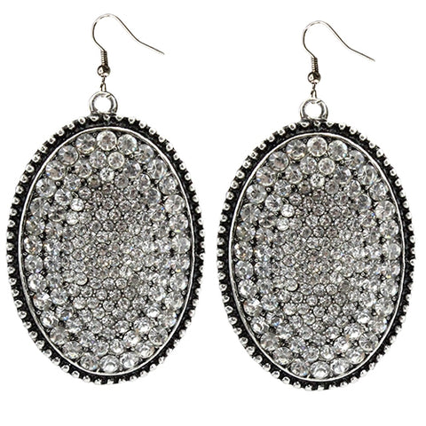 Rhinestone Crystal Earrings
