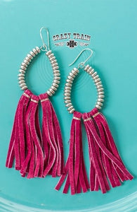 Magneta Rio Grande Earrings