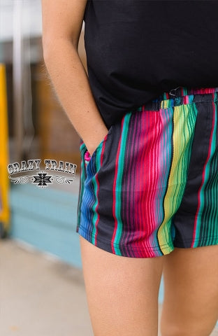Serape Summer Shorts