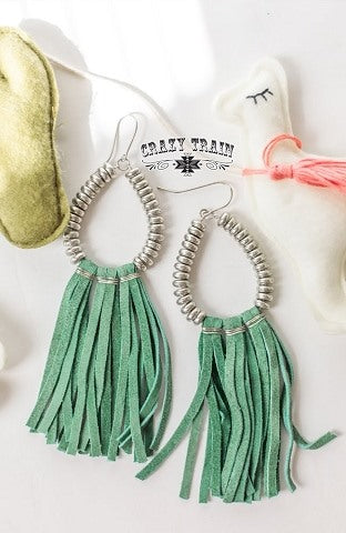 Teal Rio Grande Earrings