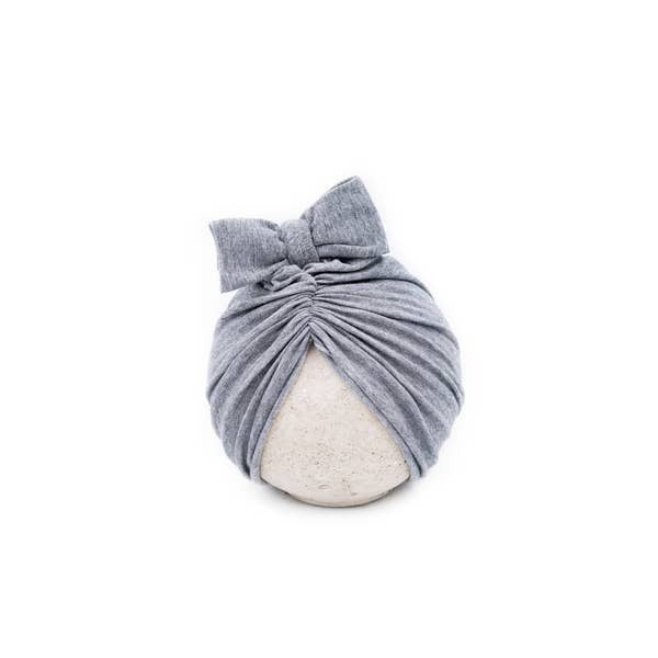 Heather Grey Classic Head Wrap Cap