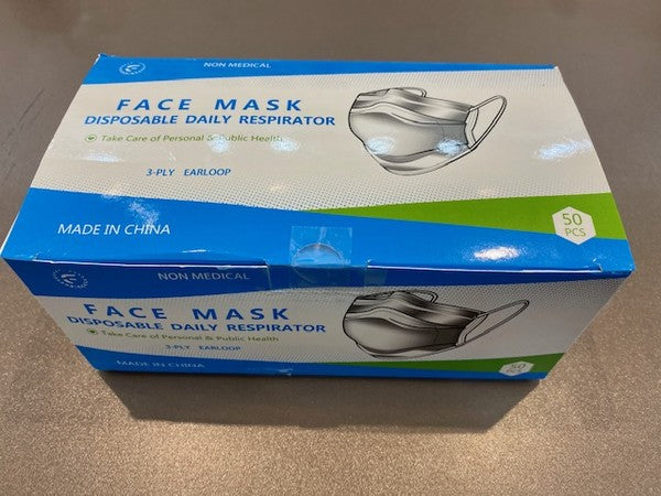 Box of 50 Disposable Mask