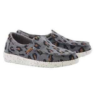 WOMEN'S Misty Charcoal Cheetah Shoes