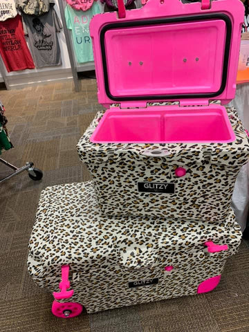 Glitzy Ice Chest