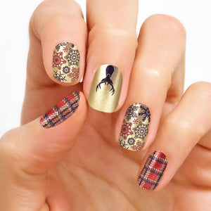 Yule Be Jolly 100% Nail Polish Strips