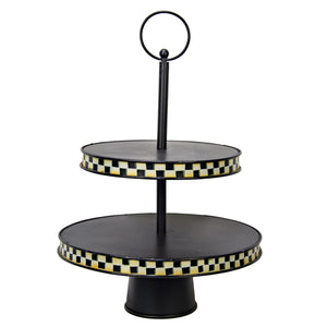Checkered Tiered Server
