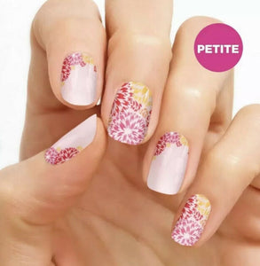Petite What In Carnation 100% Nail Polish Strips