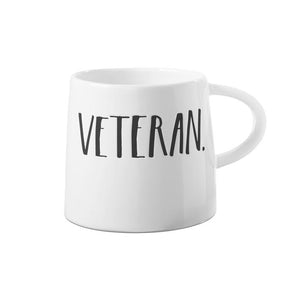 Stem Print Tapered VETERAN Mug