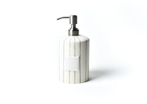 Stone Skinny Stripe Mini Cylinder Soap Pump