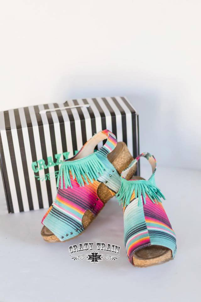 Fiesta Fringe Wedge