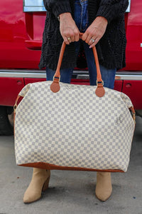 Alexander Checkered Weekender
