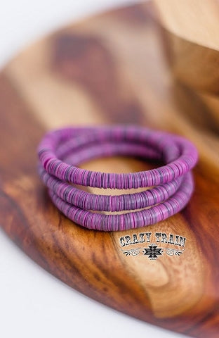 Purple Time Stopper Bracelet