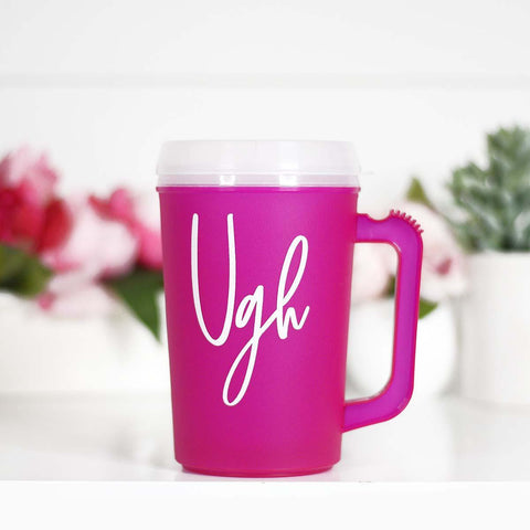 Thermal Insulated Retro UGH Cup