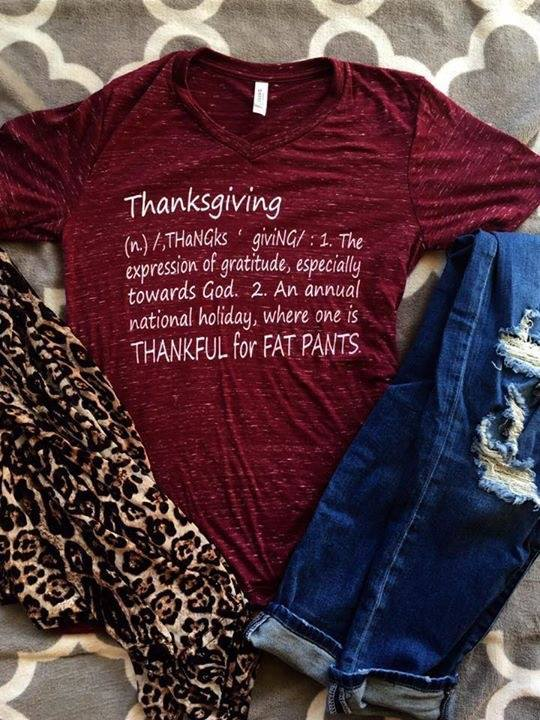 Thanksgiving Definition Tee