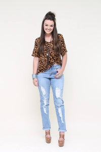 17073 Light Distressed Capri/Jean