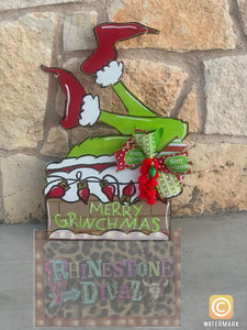 Grinch Chimney Dorr Hanger