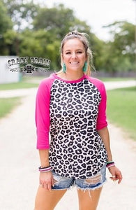 Leave It To Leopard Raglan