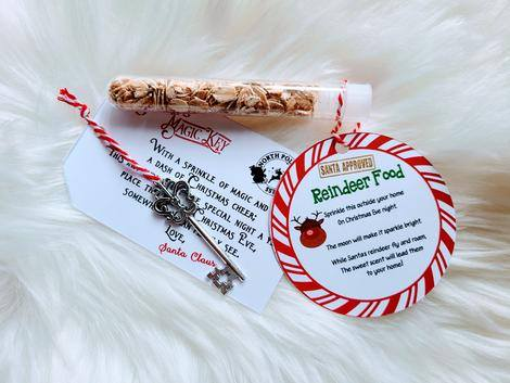 Santa Key & Reindeer Food