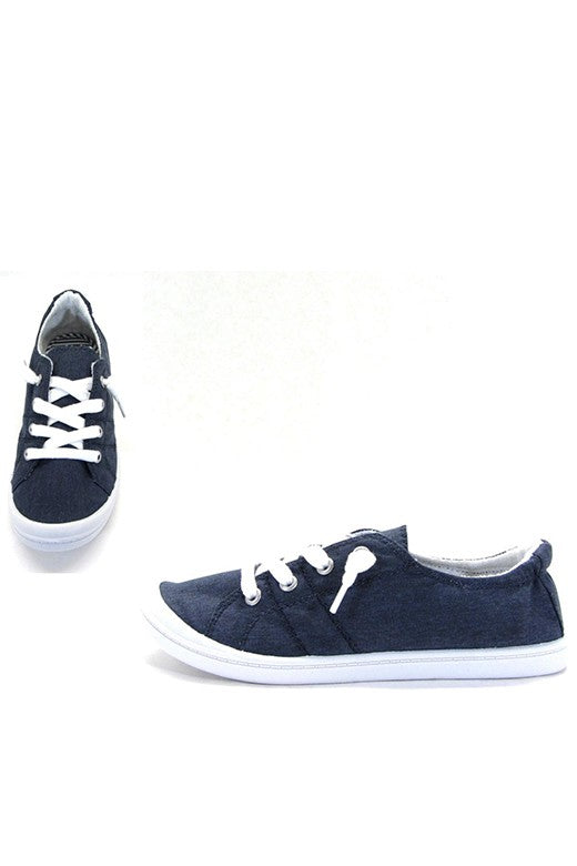 Blue Denim Comfort Sneaker