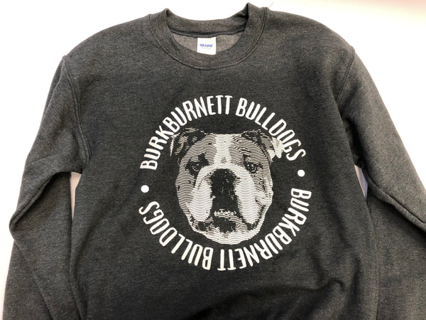 Bulldog Dk Heahter Grey Sweat Top