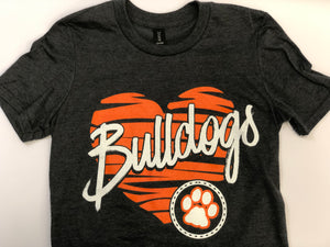 Bulldogs Heart Tee