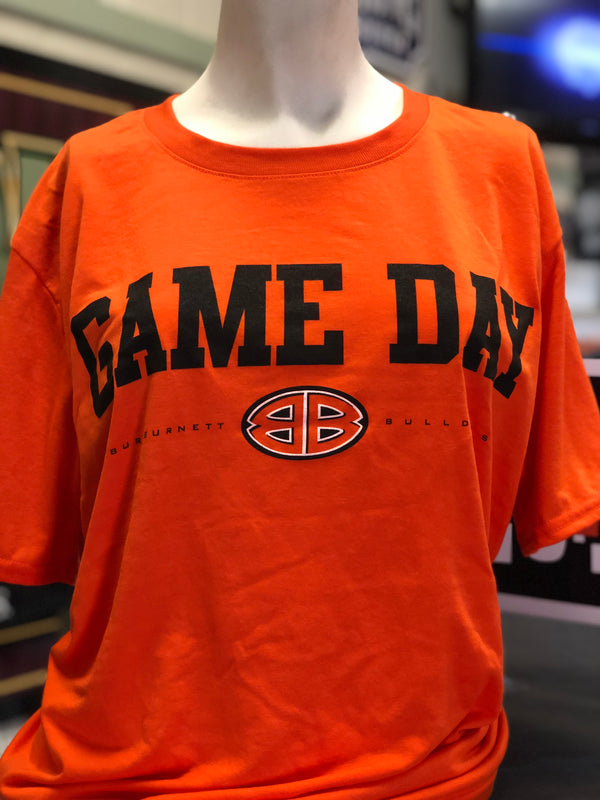 Orange Performance Game Day Tee