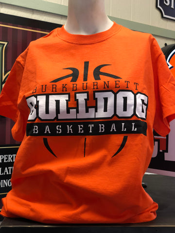 Bulldog Basketball Tee
