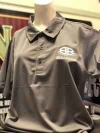 Charcoal Performance Double B Polo