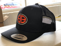 Double B Black Snapback Trucker Hat
