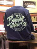 Comfort Colors - Navy Pocket Tee Bulldog Athletics