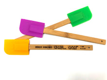 Load image into Gallery viewer, Silicone Spatula with Bamboo Handle