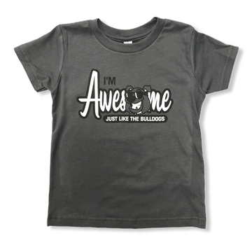 Awesome Like The Bulldogs Toddler Tee